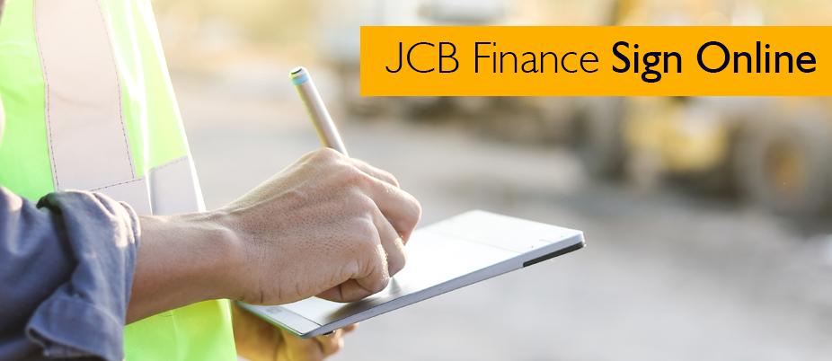JCB Finance Sign Online - JCB Finance